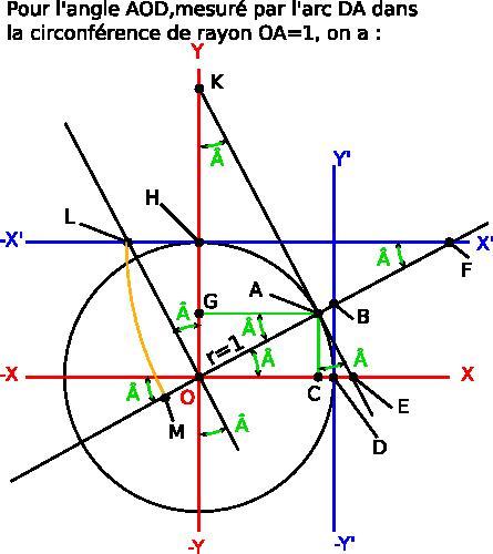 cercle trigonométrique pdf